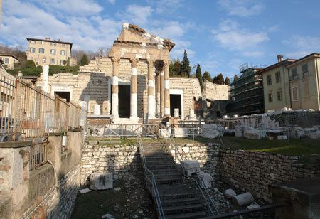 Ruins from the Roman Empire - the temple