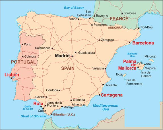 Living in Rota Spain Spain Rota Pinterest