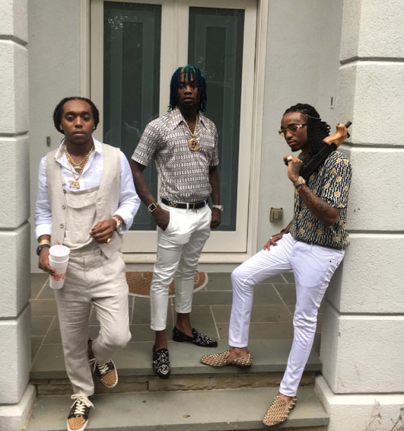 I M Not With The Draco But I Like This Photo Migos Fashion Migos Mens Inspiration
