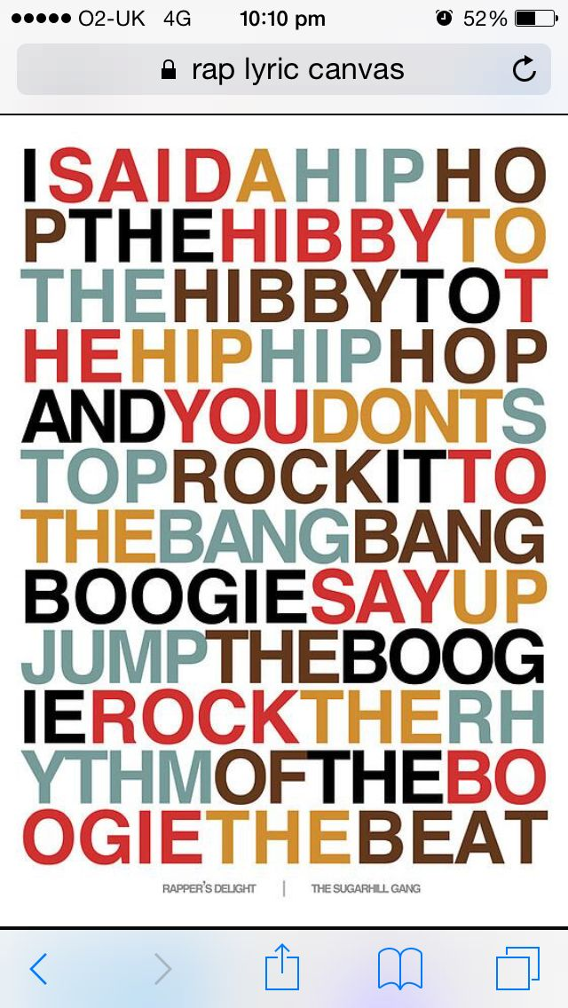 Pin by Jade Meeking on Our House 🏡 Rapper delight, The