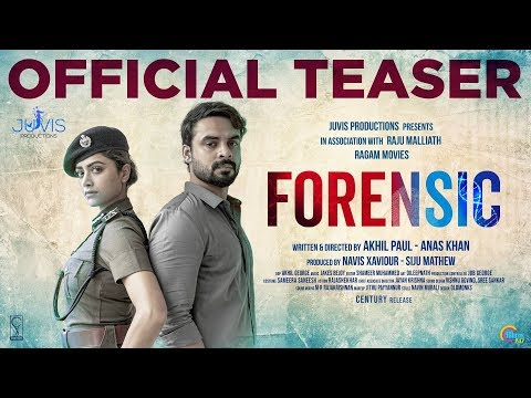 Forensic Malayalam Movie Official Teaser Tovino Thomas Mamta Mohandas Akhil Paul Anas Khan Kerala Lives In 2020 Teaser Movie Teaser Thomas Movie