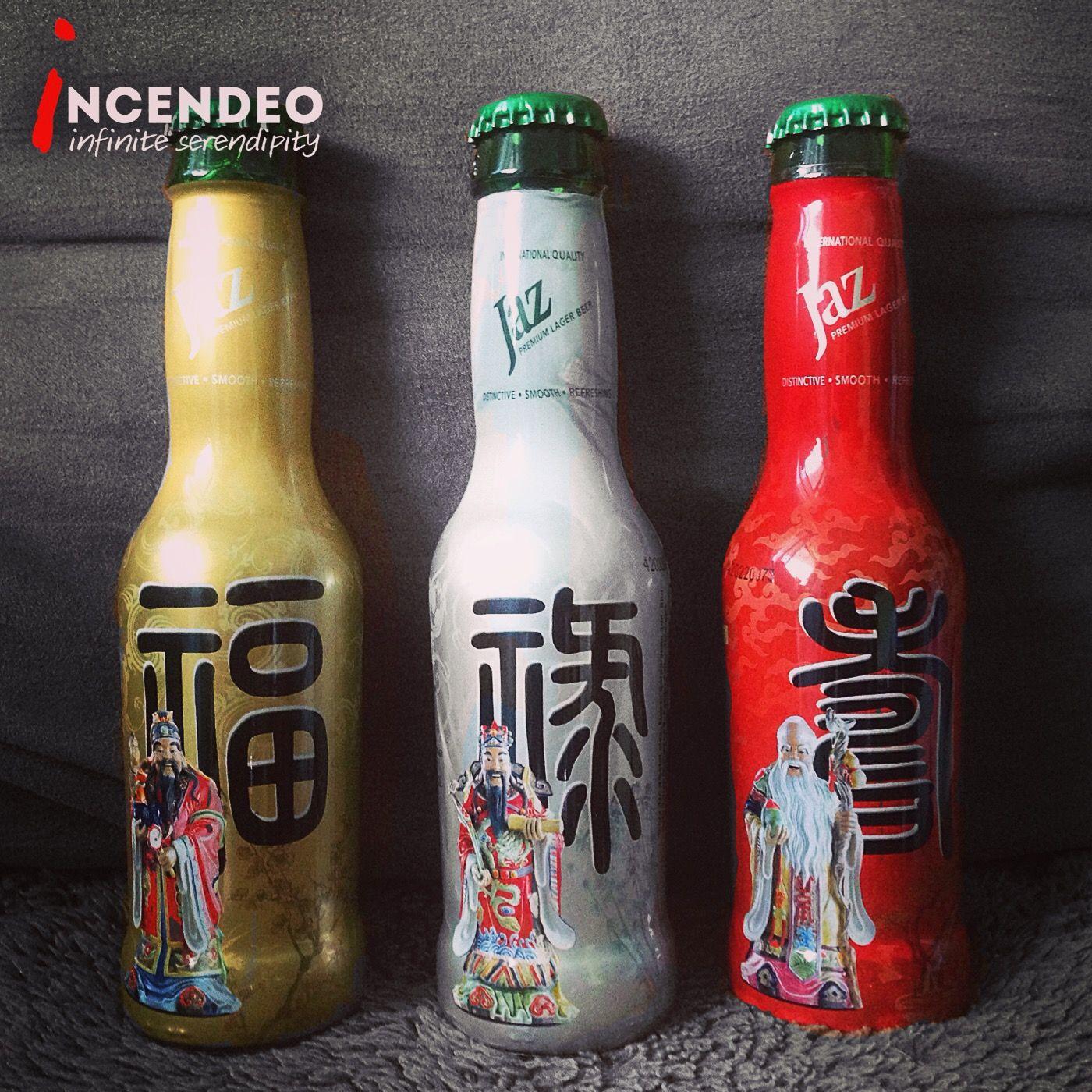 Jaz Beer 2010 Chinese New Year 福祿壽 Edition. jaz beer
