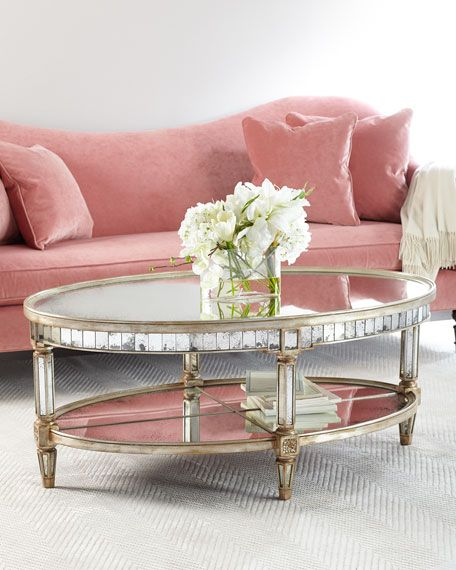 Keene Mirrored Coffee Table | Mirrored coffee tables, Living rooms ...