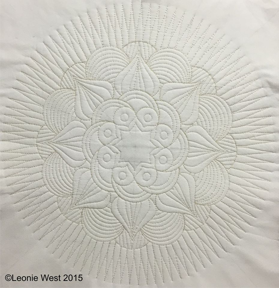 If have you ever wanted to quilt beautiful and interesting circular ...