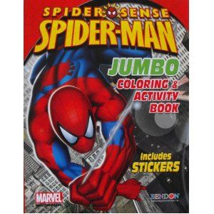 Spiderman Coloring And Activity Book With 30 Stickers 144 Pages Toy Http Earnmorefollowers Com Pinner Book Activities Spiderman Coloring Color Activities