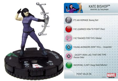 Kate Bishop #018 Avengers Assemble Marvel Heroclix