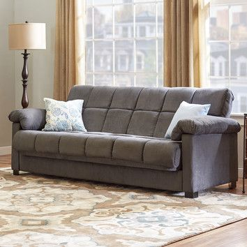 Minter 89 Pillow Top Arm Sofa Bed Living Room Furniture Sale