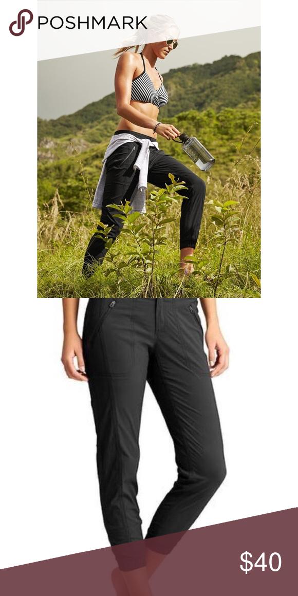 d03e1b07a Athleta Black Trekkie Jogger Pant Athleta Black Trekkie Jogger Pant -  stretchy waist, but and