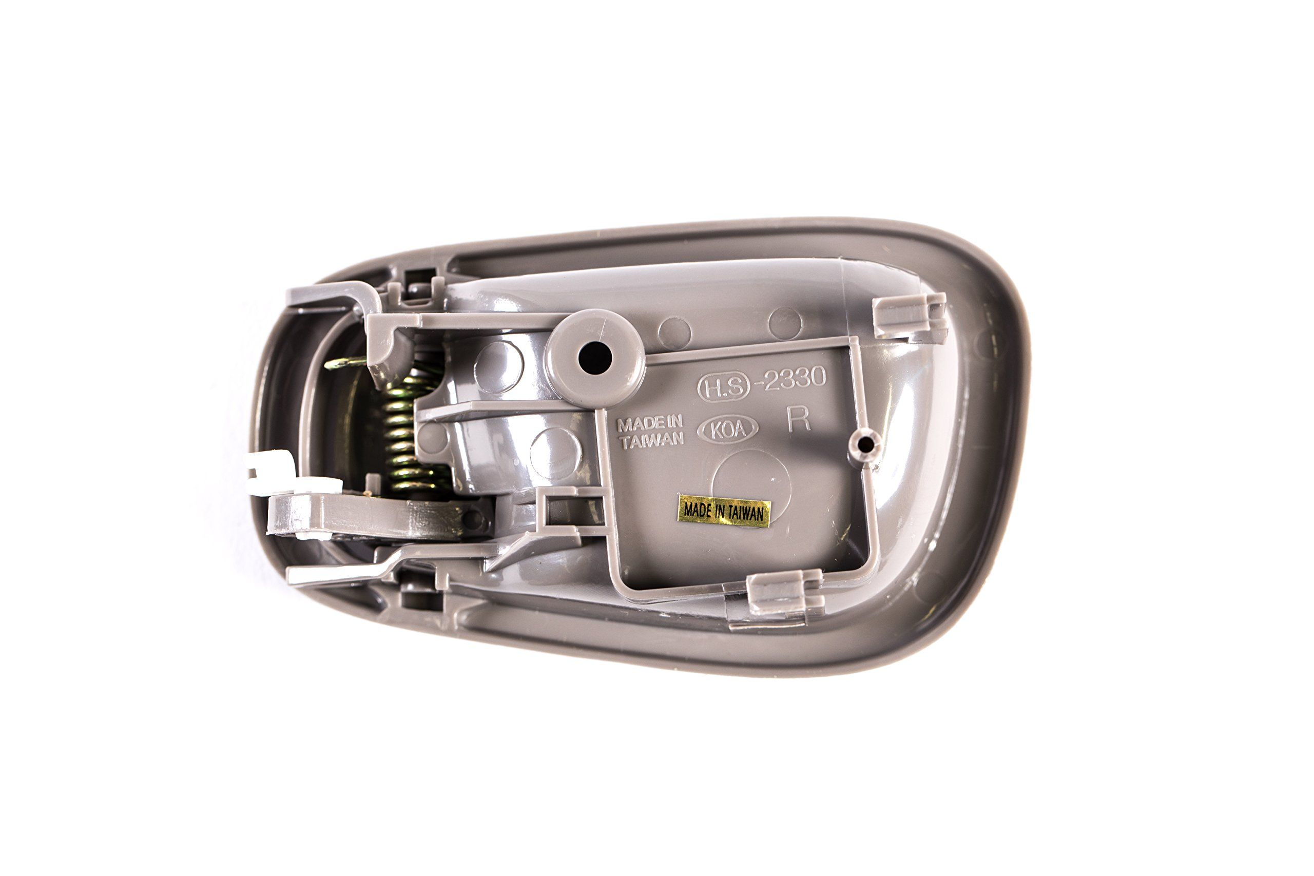 Replacement Front Right Passenger Side Gray Door Handle For 98 02 Toyota Corolla To1353165 1998 2000 2001 2002 Ad D Toyota Corolla Corolla Door Handles