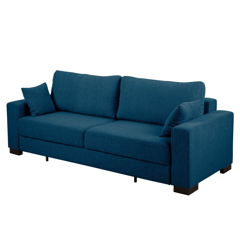 Contemporary Turquoise Blue Sofa Bed   Canterbury   Blaues ...