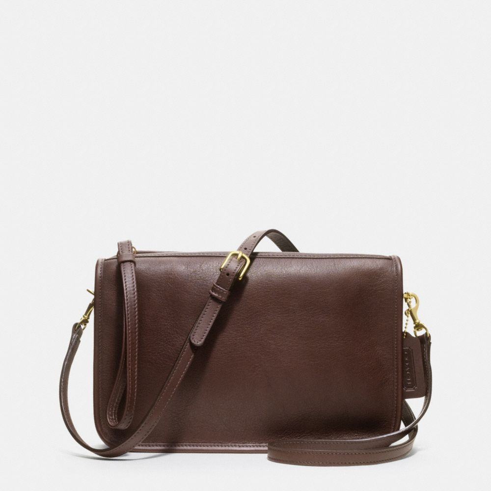 The Coach Classic Basic Bag In Leather from Coach, $168