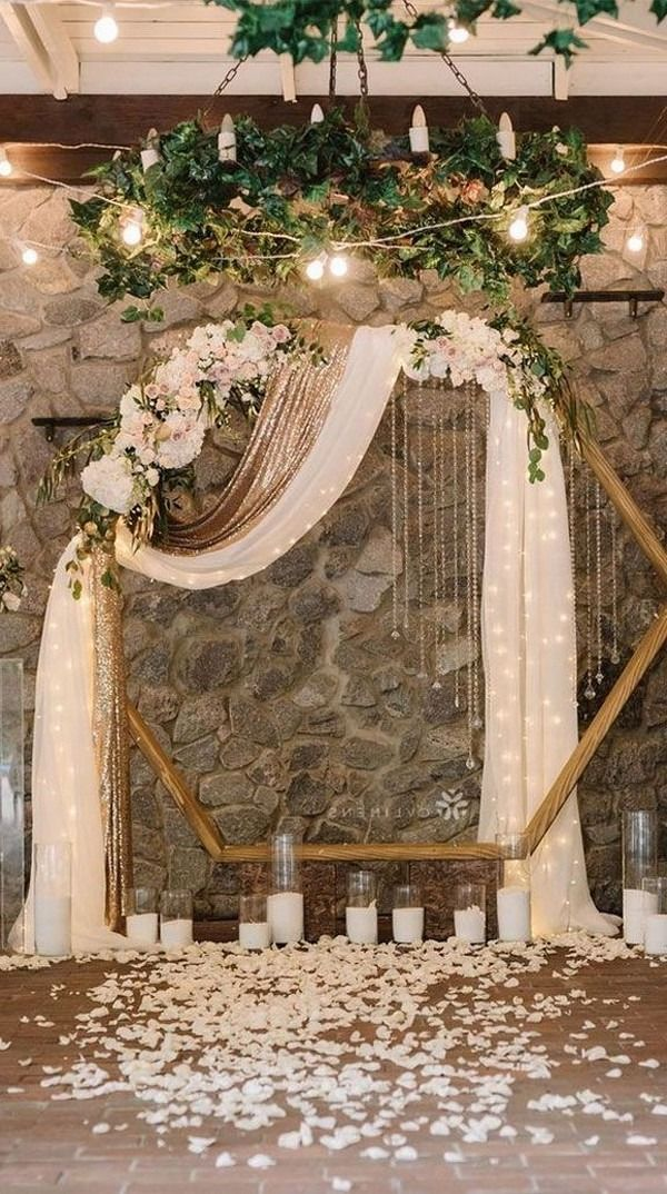 Top 20 Indoor Wedding Ceremony Backdrops