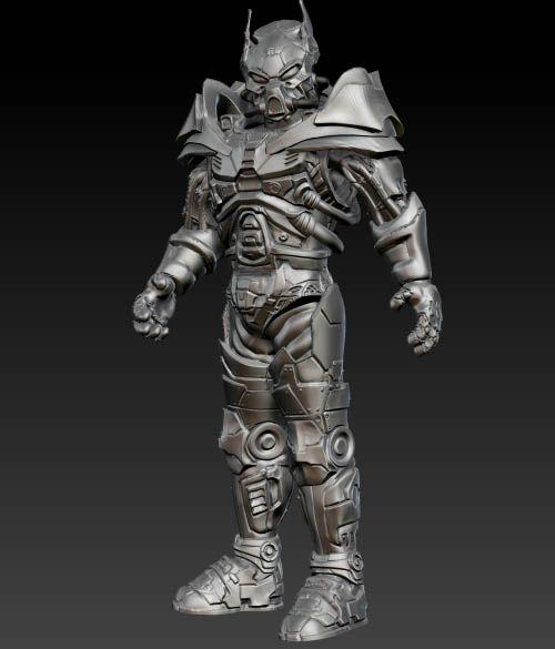 Fallout Tactics Power Armor WIP | fall