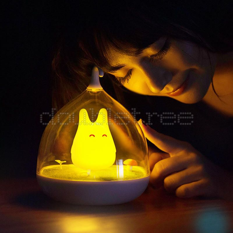 Landscape Led Sensor Rechargeable Totoro Micro Diy Night Lamp Touch dxCBroe