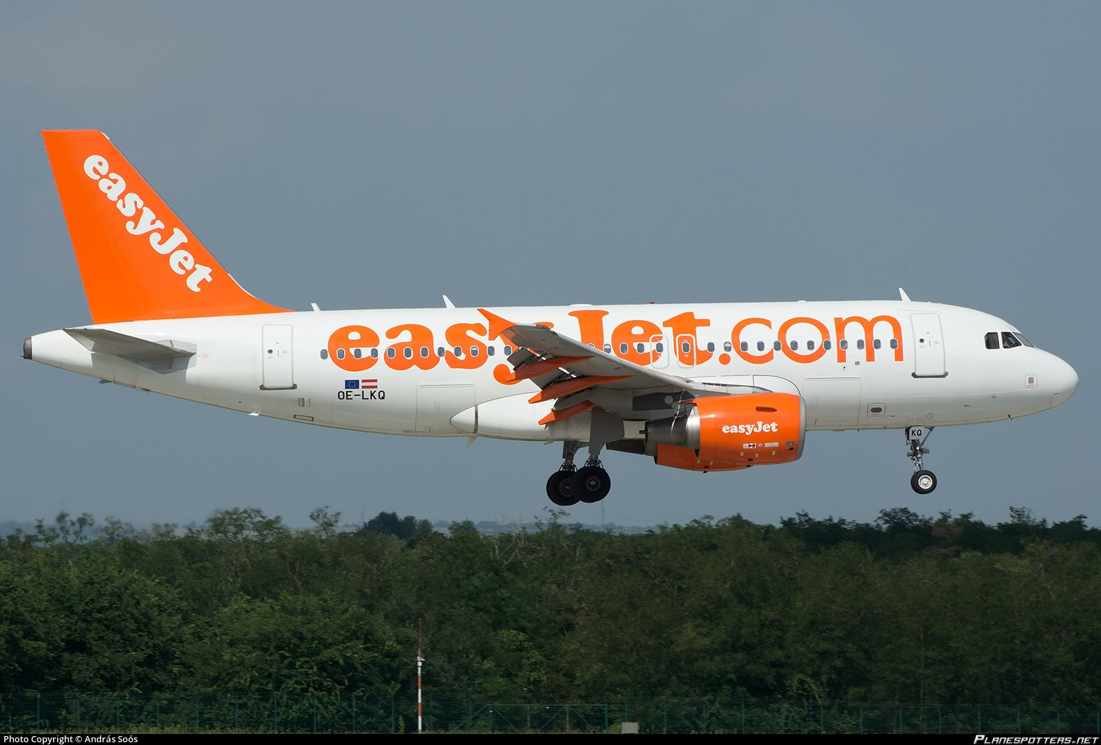 OELKQ easyJet Europe Airbus A319111 Airbus, Aircraft