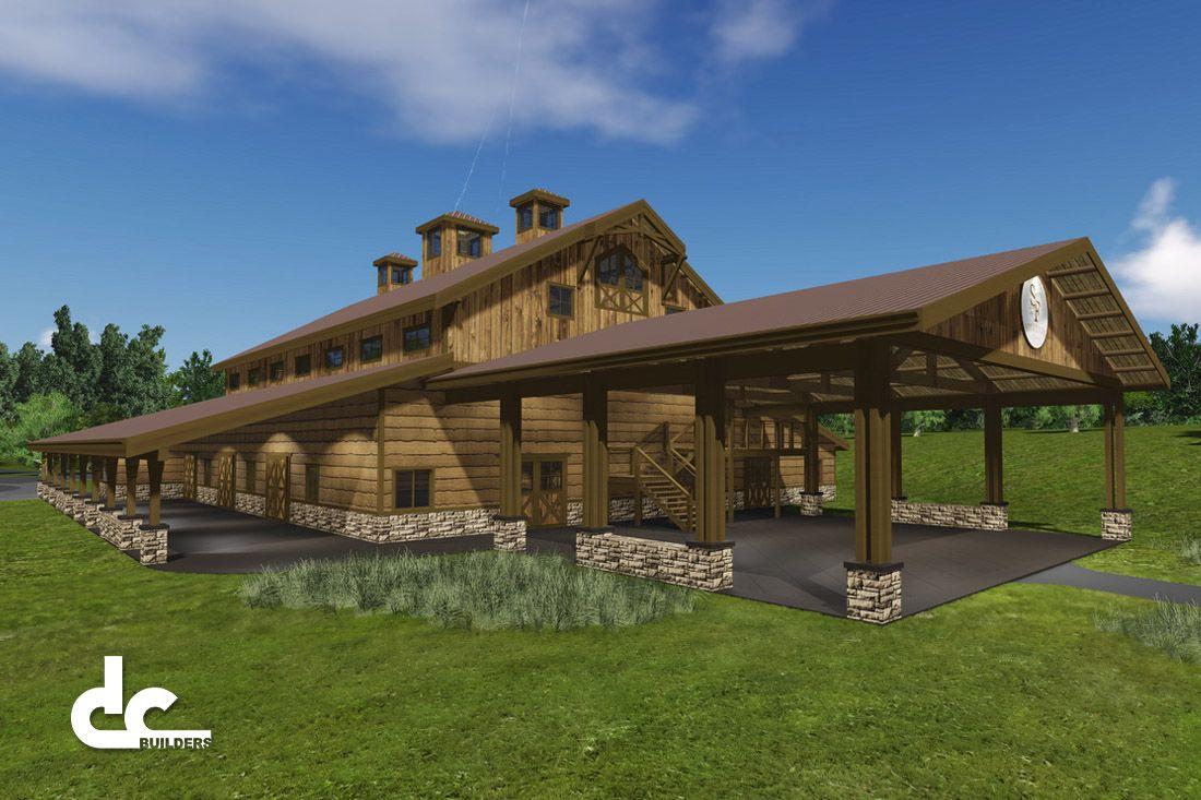 Rustic Barn Wedding Venue Design
