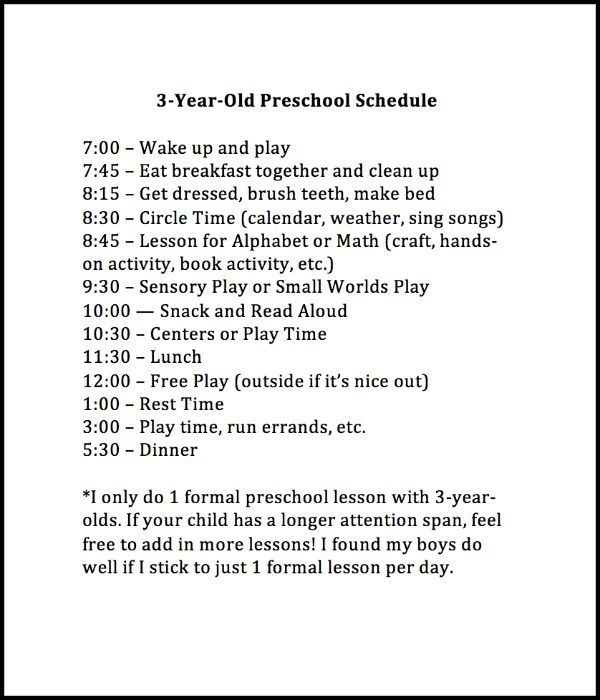 Weekly Preschool Planner Preschool planner and Preschool schedule - montessori teacher resume