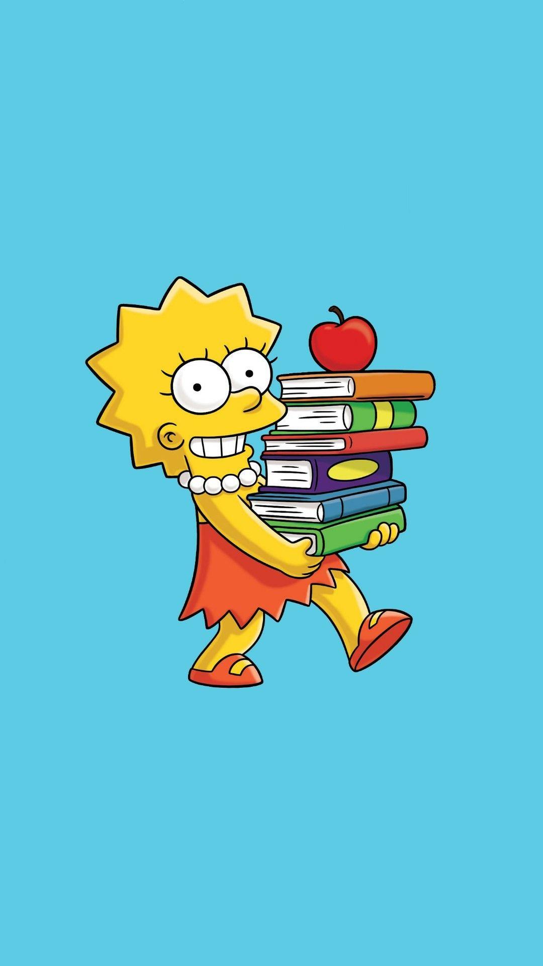 Wallpaper The Simpsons 1 Papeis de parede, Desenho dos