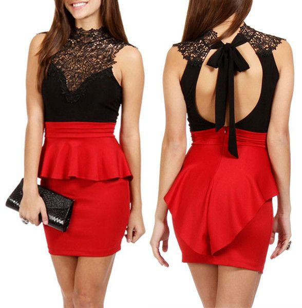 Cute Cheap Peplum Dresses