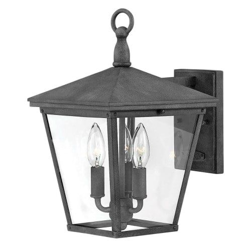 Hinkley lighting 1429 trellis 3 light 14 3 4 high outdoor wall sconce