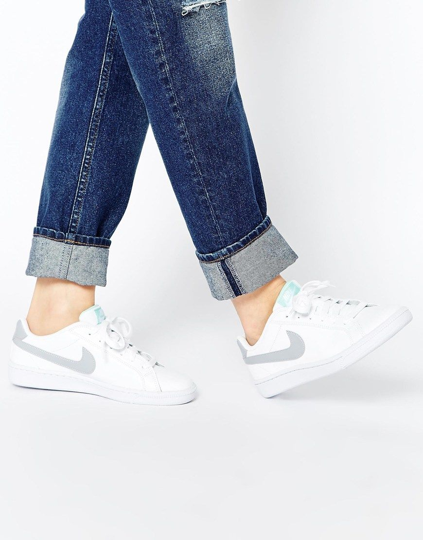 Nike Majestic Court White Trainers at