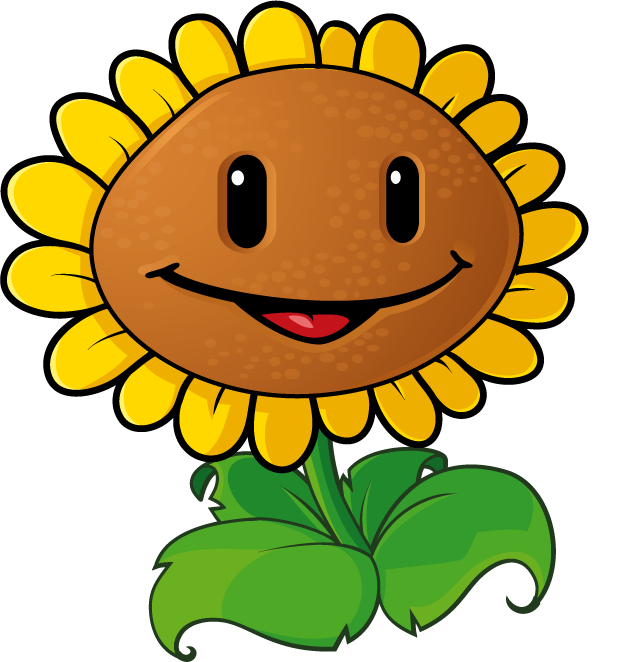 this is best sunflower clipart 4018 printable plant cell rh pinterest com plants vs zombies clip art