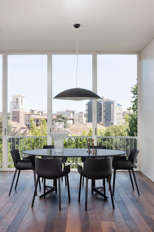 Design Stoelen Kartell.Kartell Piuma Eetkamerstoel In 2019 Fonq Modern