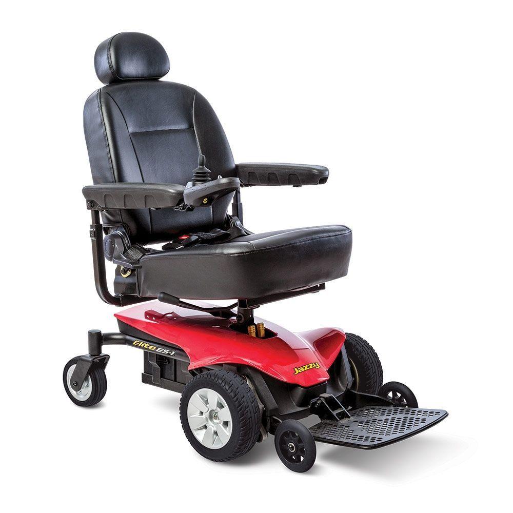Pride Jazzy Es 1 Power Wheelchair Powered Wheelchair