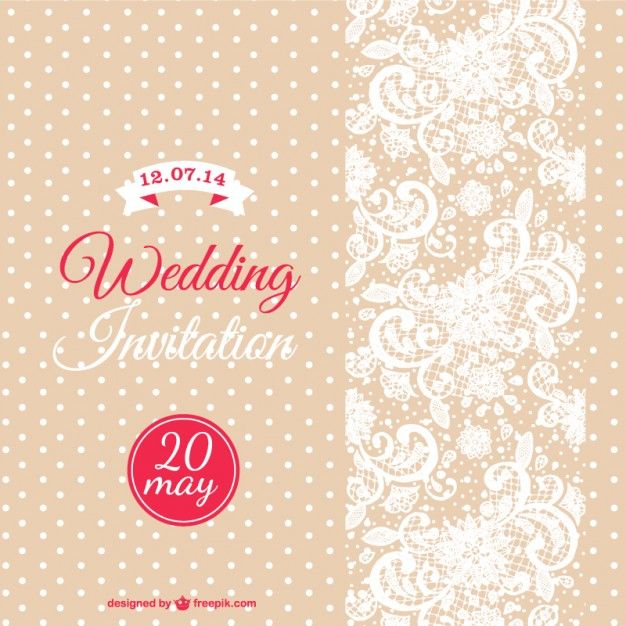 Vector wedding card template Clip Pinterest Wedding card - invitation designs free download