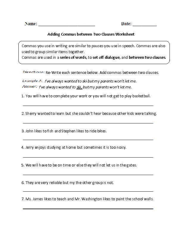 Printables Clauses And Phrases Worksheets phrases and clauses worksheets davezan 1000 images about on pinterest text messages grammar