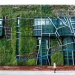 Jardines verticales en Vitoria