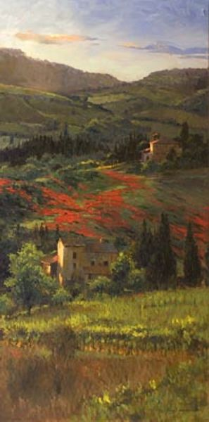 Richard Johnson - Late Spring at the Vinyard