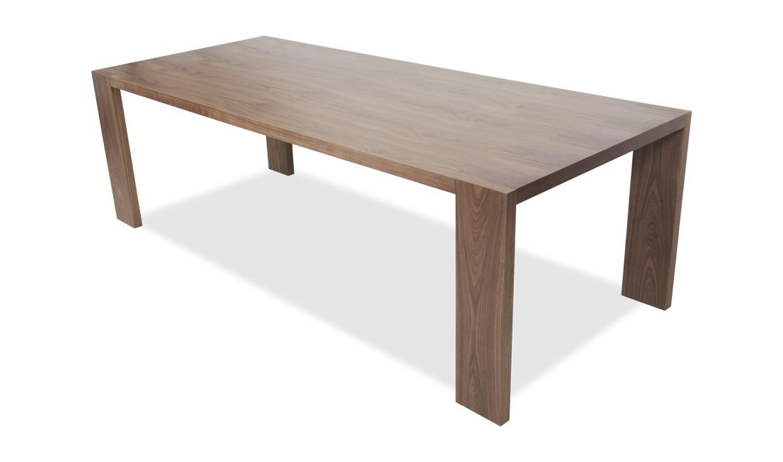 Dustin Walnut Dining Table Tavoli