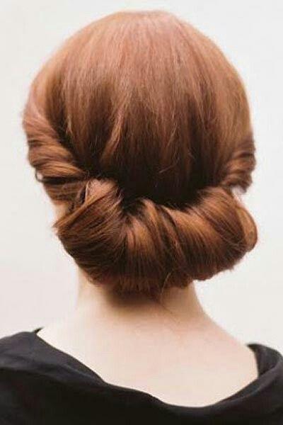 Hairstyle تسريحات شعر ناعمة وجميلة للمناسبات السعيدة Simple Wedding Hairstyles Hair Styles Wedding Hairstyles
