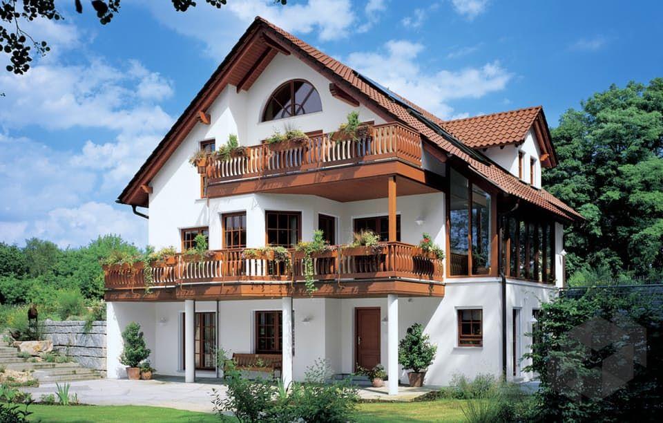 familia mh rheinau linx von weberhaus auswahl an h usern im alpenl ndischen stil find. Black Bedroom Furniture Sets. Home Design Ideas