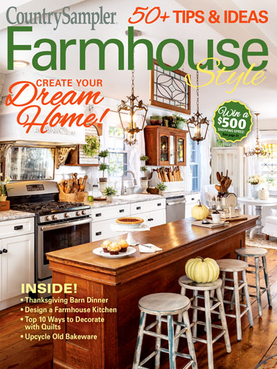 Country Sampler Farmhouse Style Autumn 2019 Country