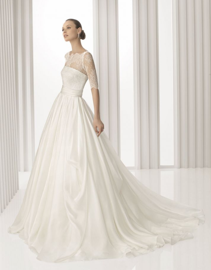 Rosa Clara Spring 2012 Bridal Gowns Lace Luxury Sleeved Romance