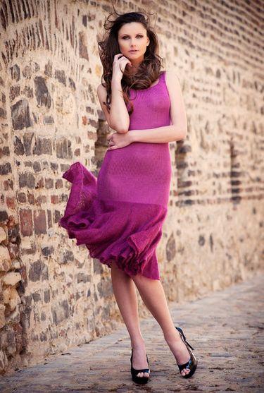 Designer Strickkleid Dirty Dancing - 36 38   Stricken Kleider ... fa28ae27a1