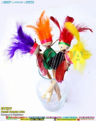 Pensil Boneka Bulu Contoh Undangan Pernikahan Boneka Souvenir
