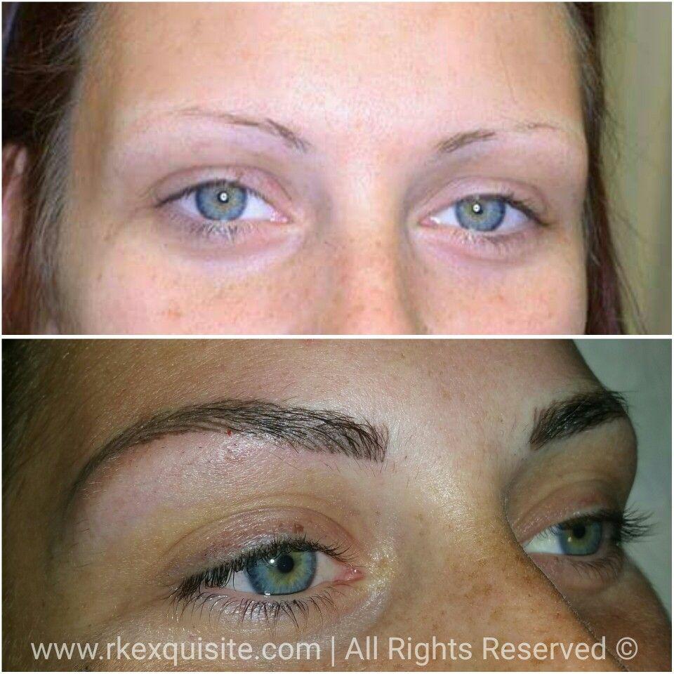 Hair Stroke Eyebrows. Last 2-5 years #semipermanentmakeup ...