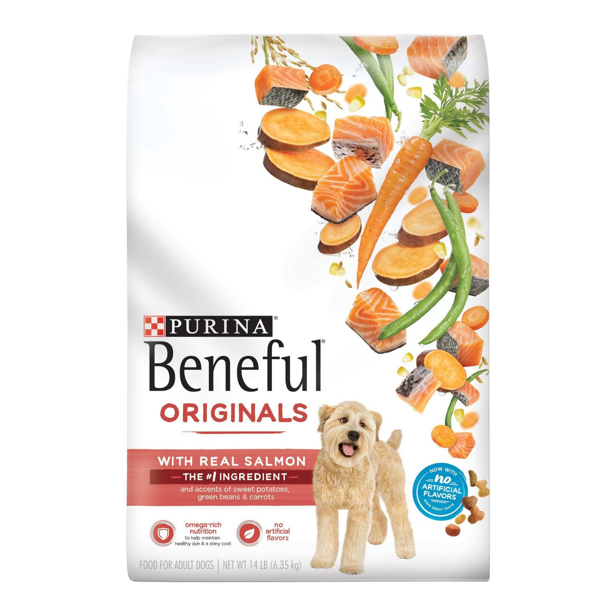 Purina Beneful Dry Dog Food Originals Natural Salmon With Sweet