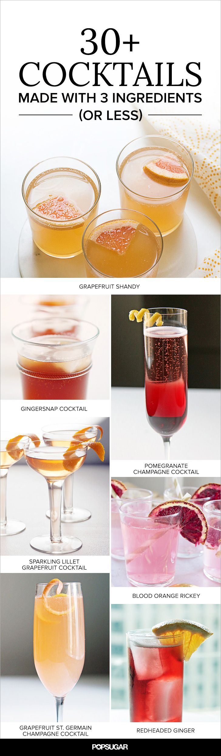 33 Crave Worthy Cocktails Made With 3 Ingredients Or Fewer