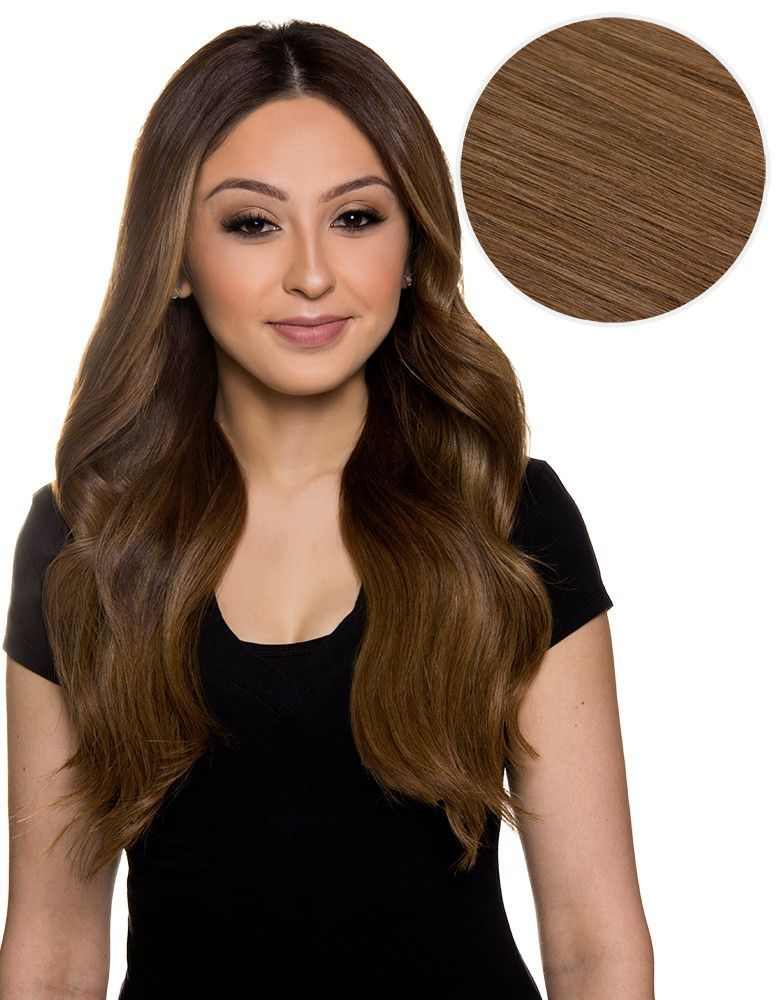 Piccolina 120g 18 Chestnut Brown 6 Hair Extensions Bh