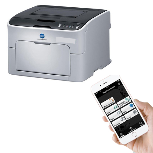 Konica Minolta PageScope The mobile App for iPhone, iPad