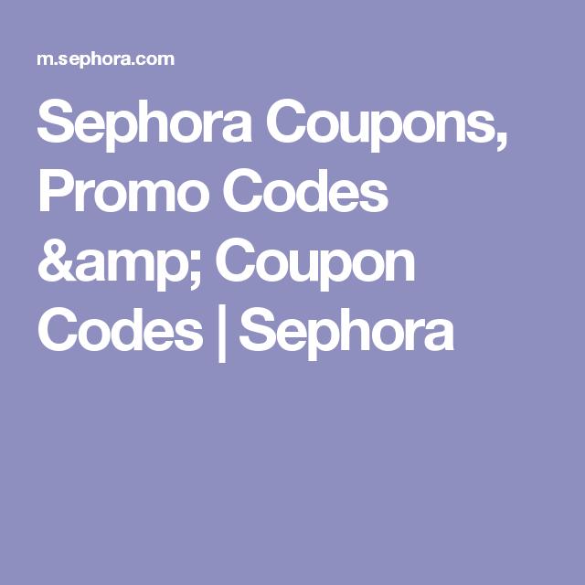 Sephora Coupons, Promo Codes & Coupon Codes