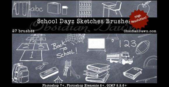 Download 30+ Free Scribble & Doodle Photoshop Brush Packs | Sketch ...