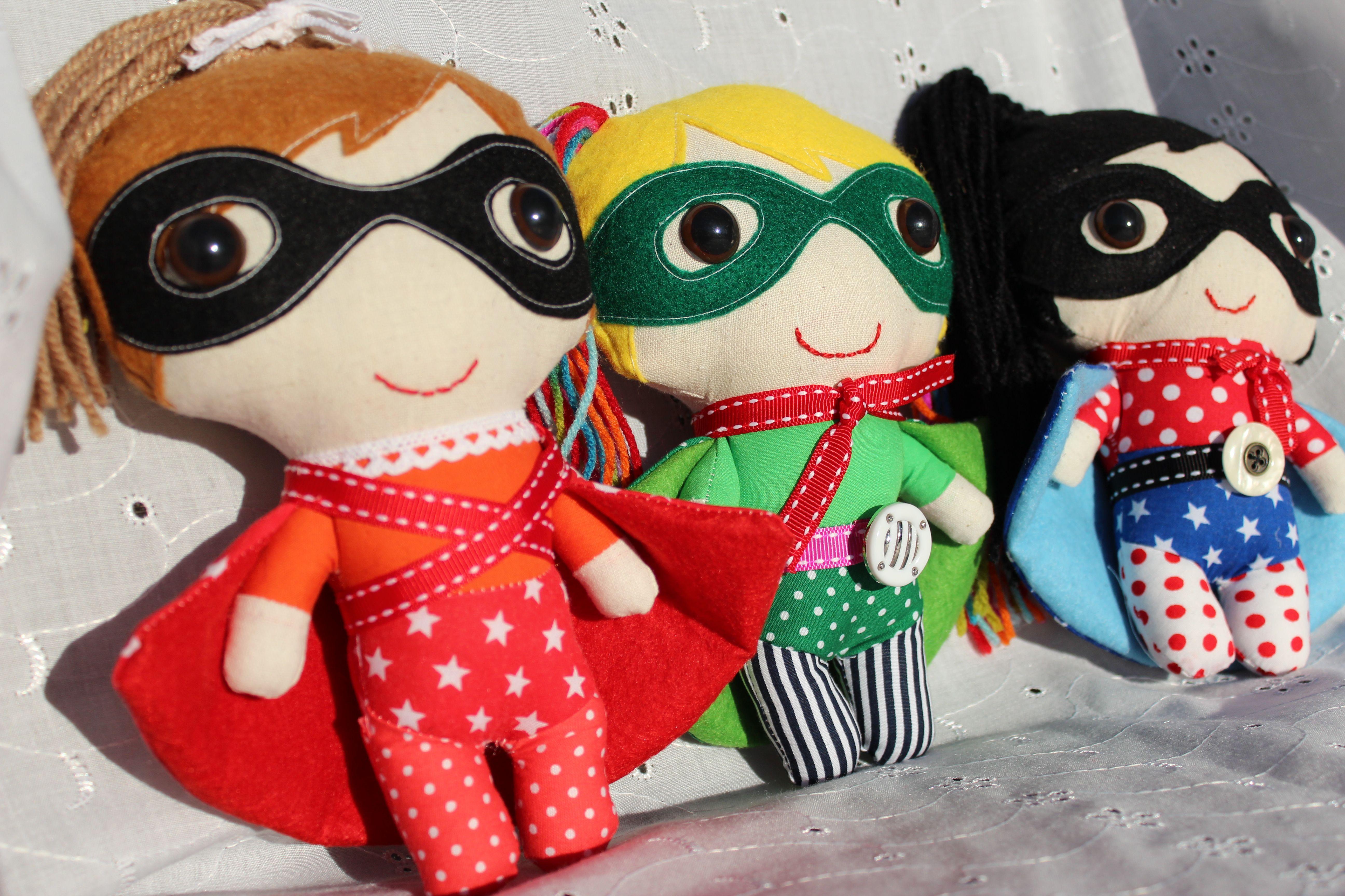 Hand made Superhero toys