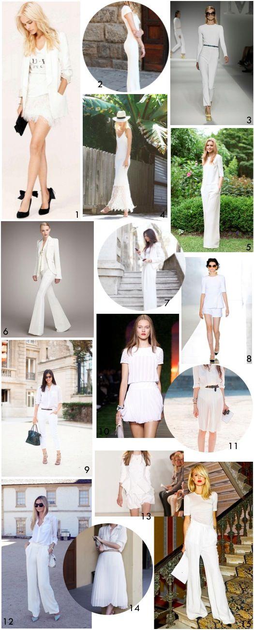 Ashley In DC: White On White