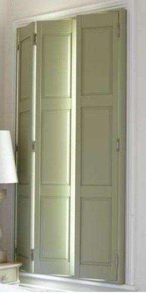 Folding Shutters Interior Paint Interior Design School