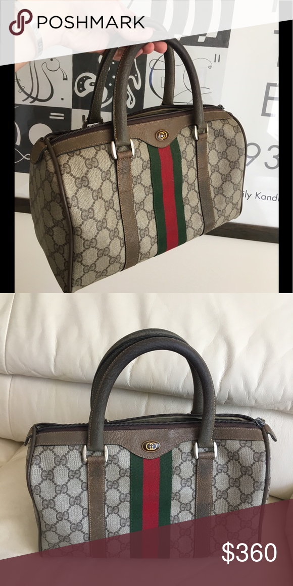 8e23ad5eb7d Authentic Gucci vintage 80' Bag Price is firm. Final sale!!! Gently used,  the bag is vintage 80' please concern about not brand new and vintage  conditions.